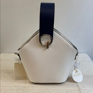NWT Isabelle Vegan Leather Bucket Bag